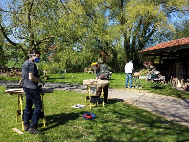 Sommerakademie Kloster Malgarten Holz-Atelier