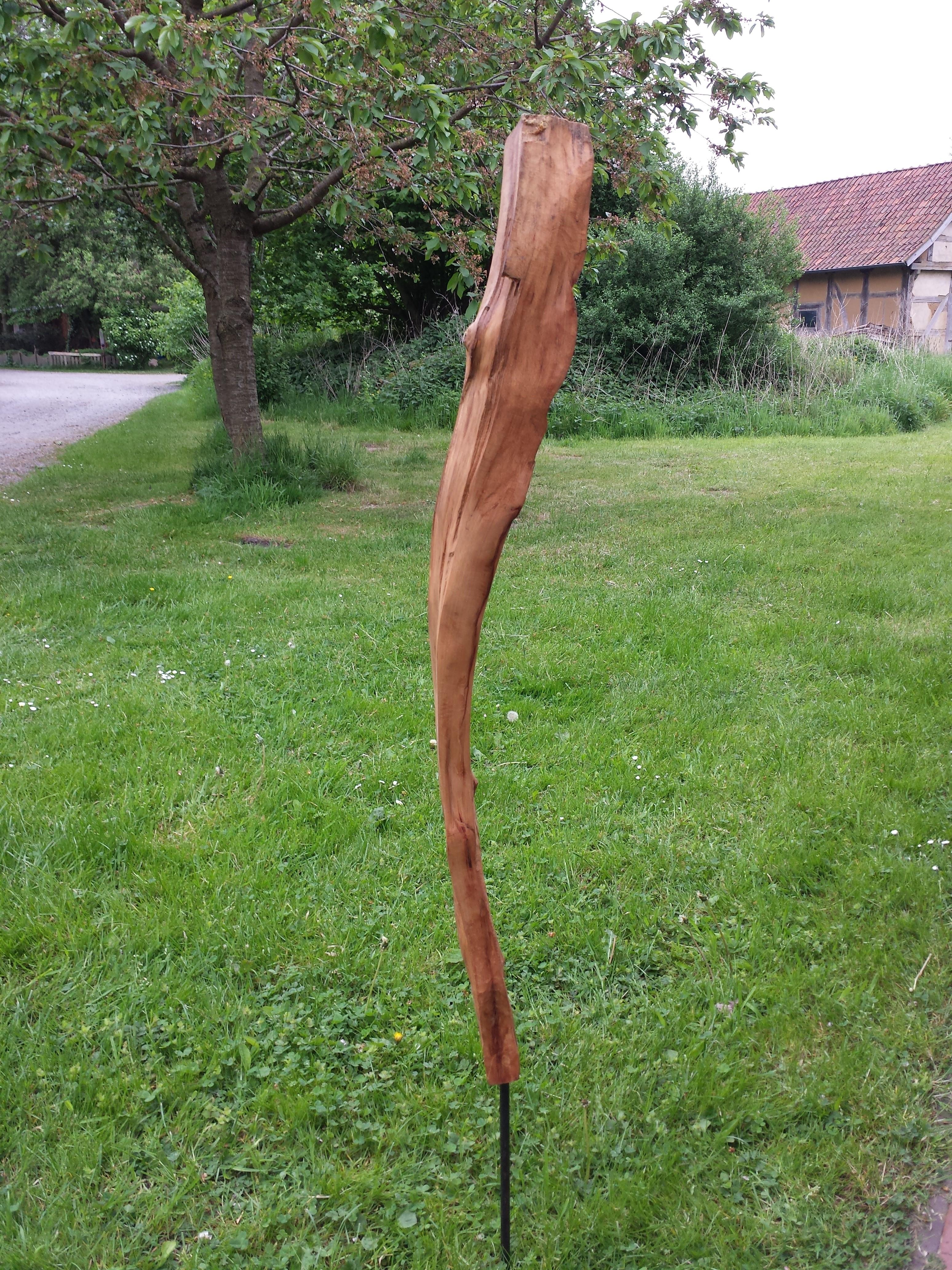 Stele aus Buchenholz (Teilnehmerin)