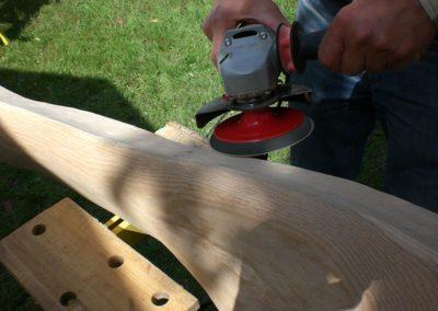 Flex an Holz