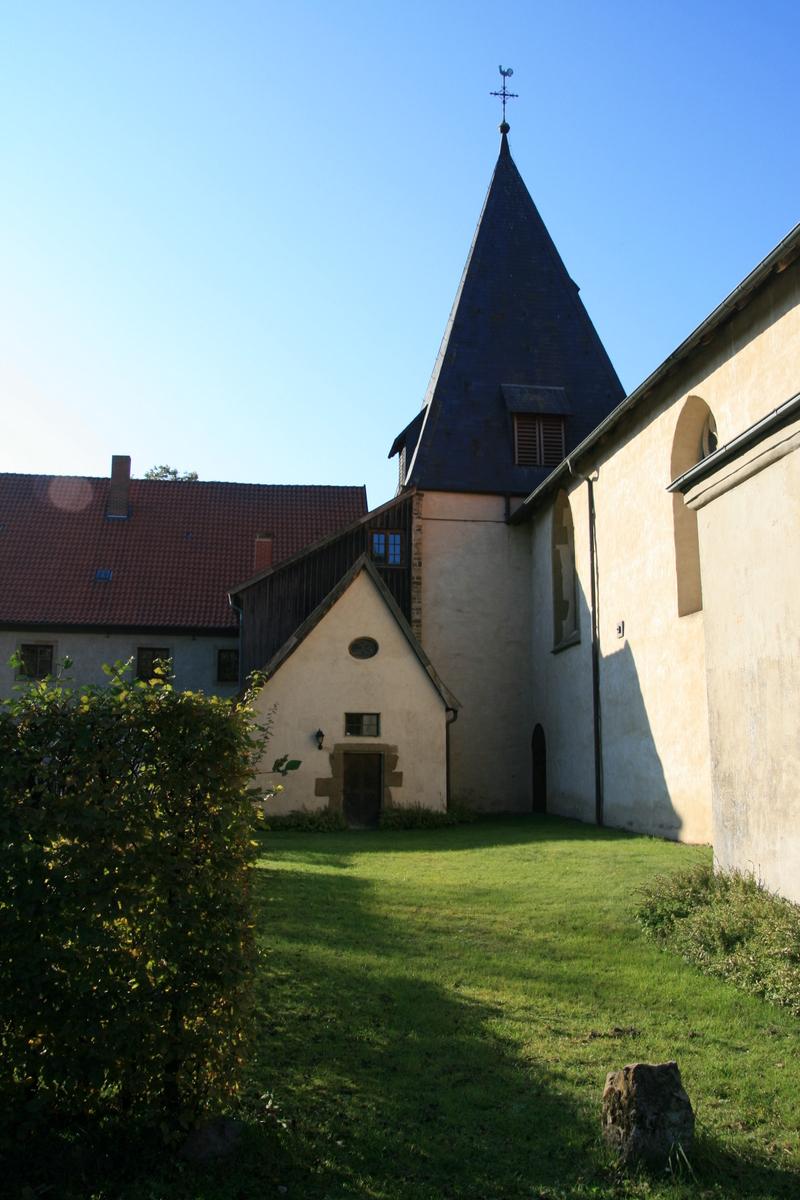 Klosterkirche - Blick vom Kreuzhof