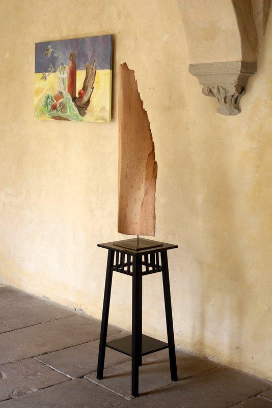Holz und Malerei Kreuzgang